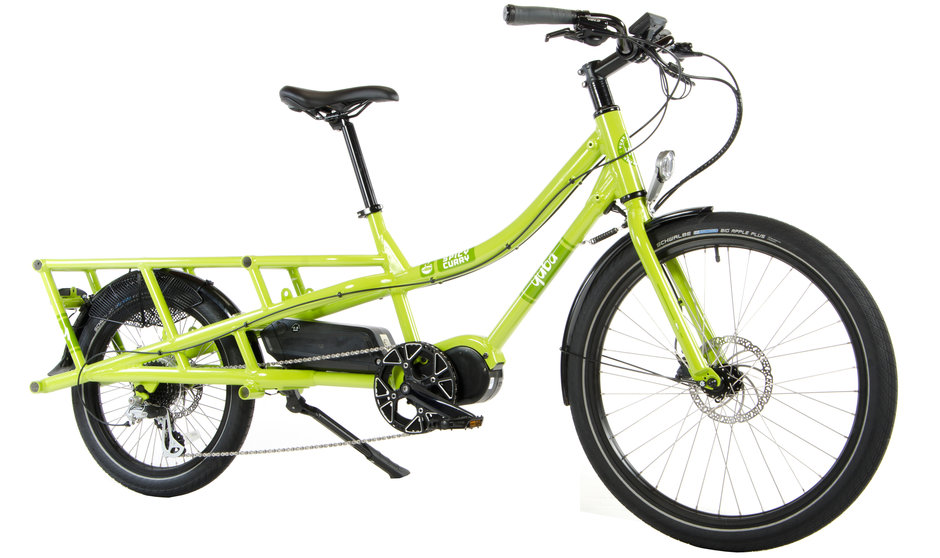 Electric Bike Yuba Spicy Curry Angle
