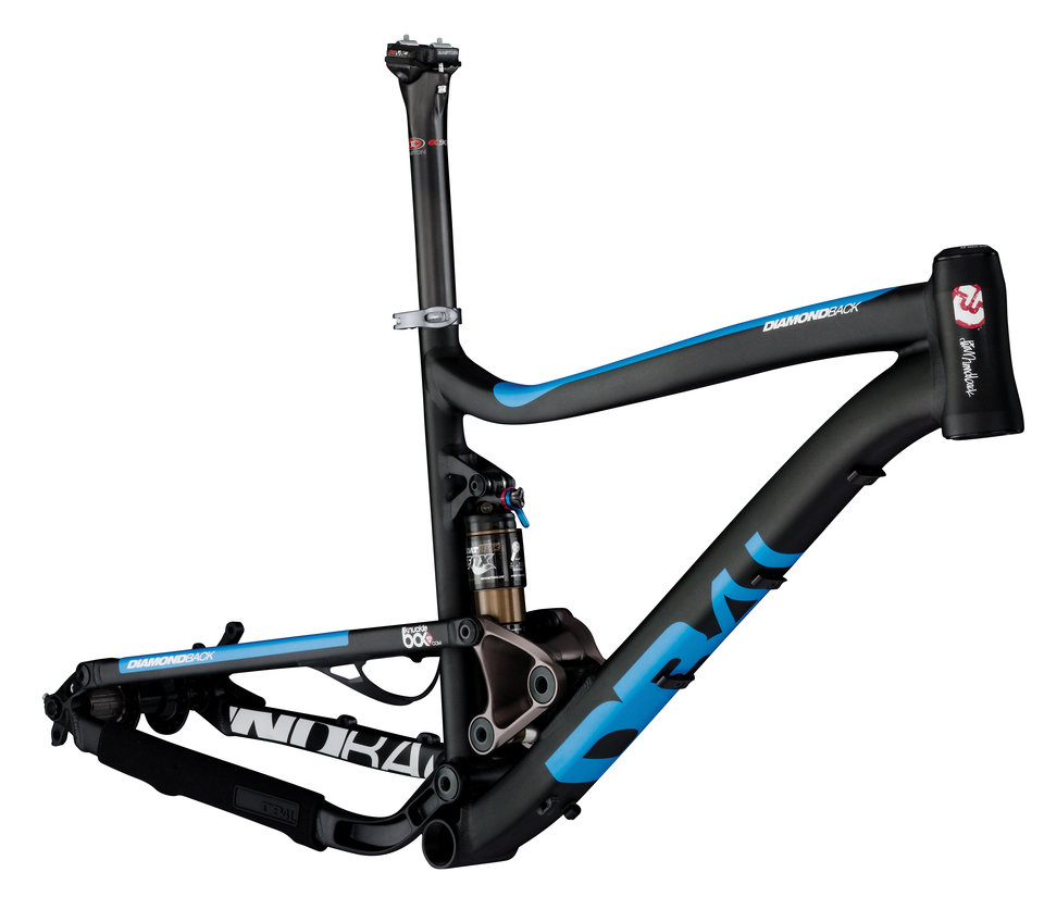 Sortie Black Frameset