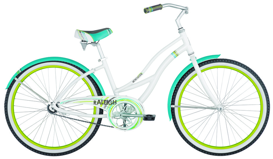 2014 Retroglide White/Teal/Green