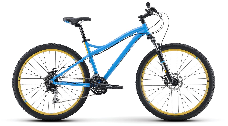 Mountain Bikes 17 Lux Cyan profile