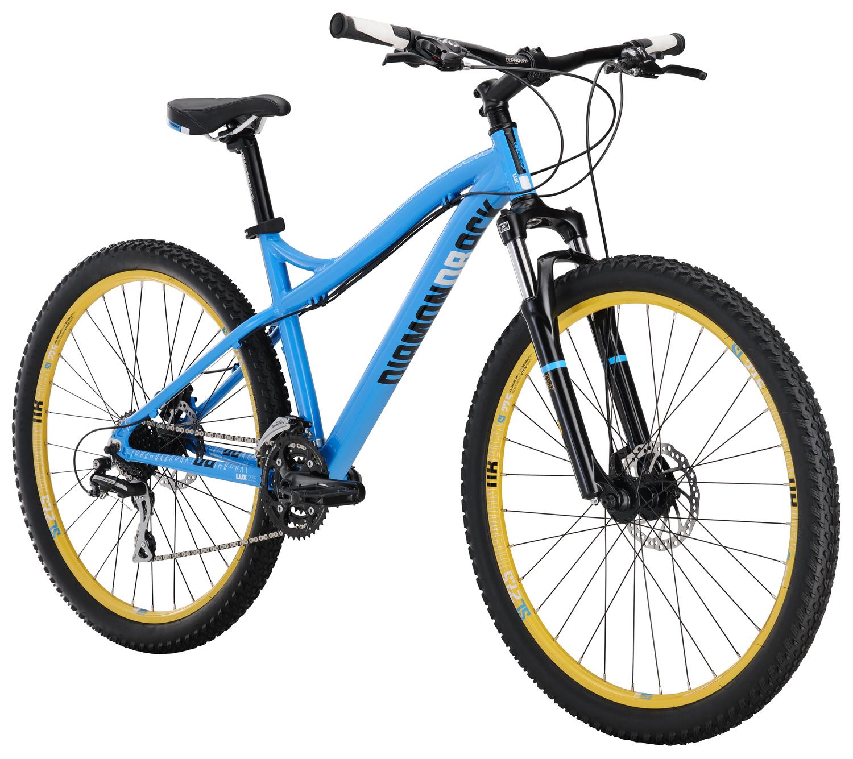 Mountain Bikes 17 Lux Cyan angle