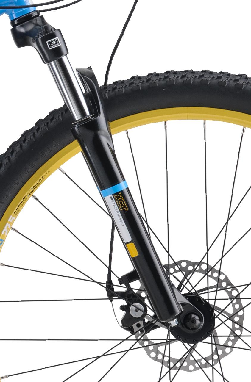Mountain Bikes 17 Lux Cyan FORK