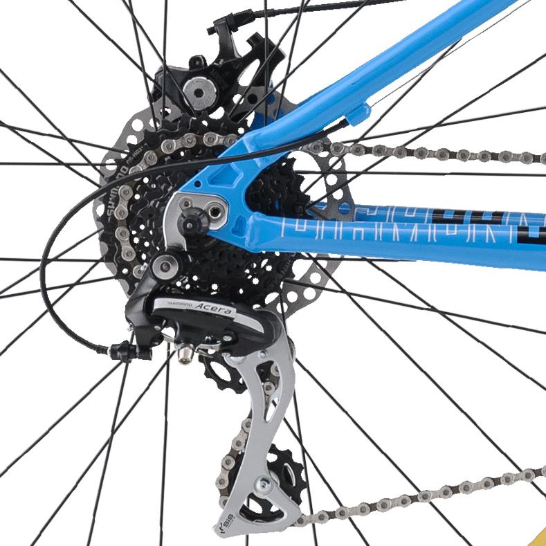 Mountain Bikes 17 Lux Cyan RD