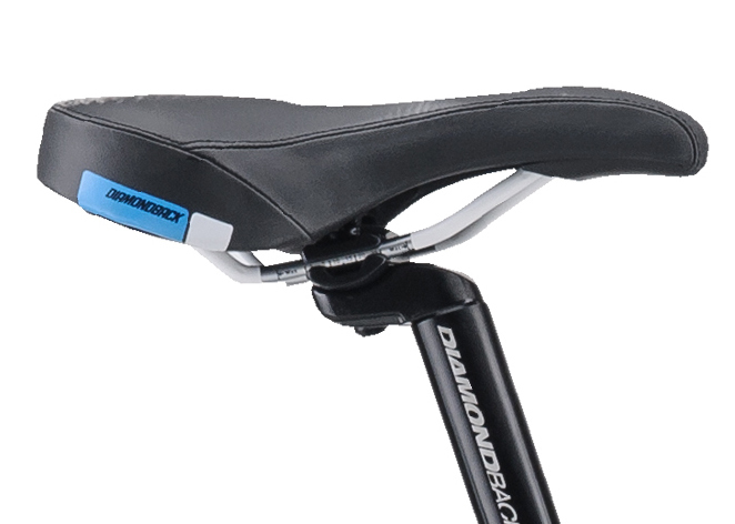 Mountain Bikes 17 Lux Cyan SADDLE