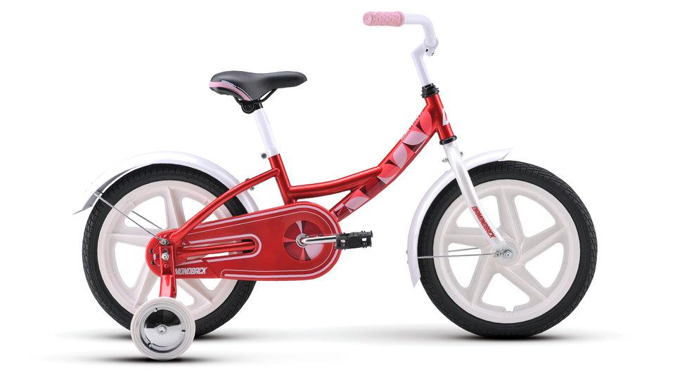 Kids Bikes 17 MiniImpression Red profile
