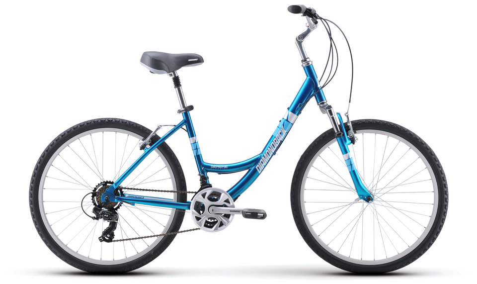 City Bikes 17 SereneClassic Aqa profile