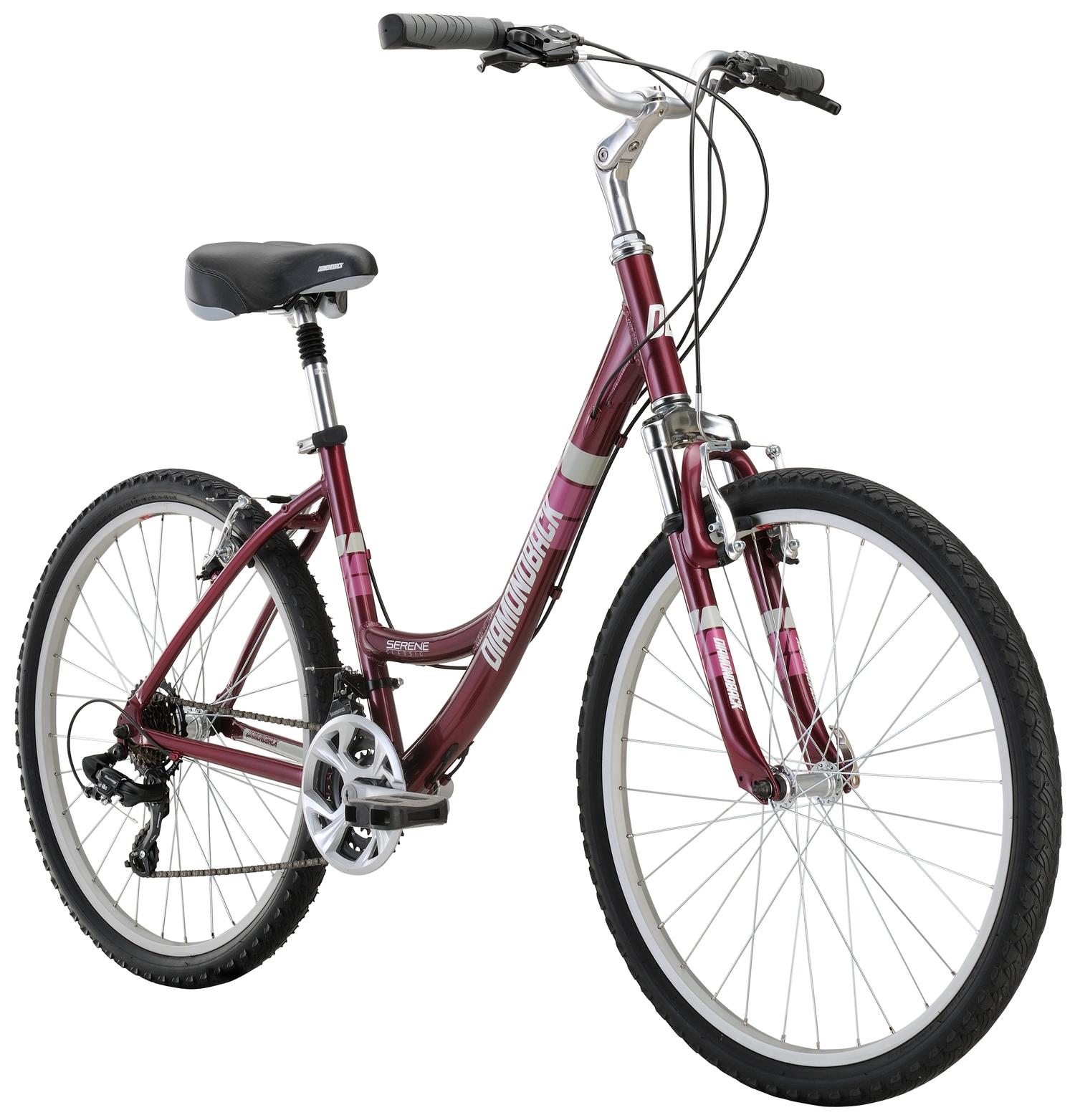 City Bikes 17 SereneClassic Plm angle