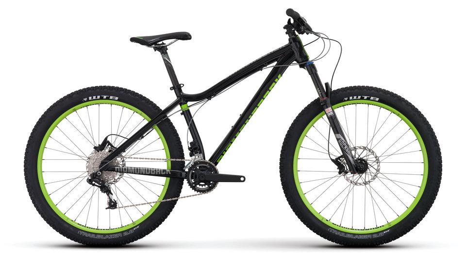 Mountain Bikes 16 Mason Blk profile
