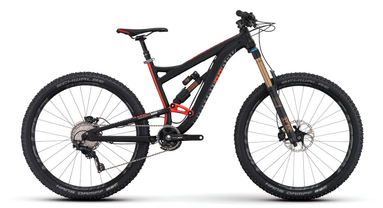 Mountain Bikes 16 Misson Pro Blk profile