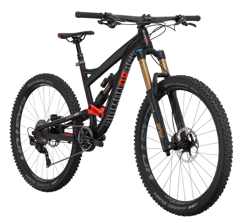 Mountain Bikes 16 Misson Pro Blk angle