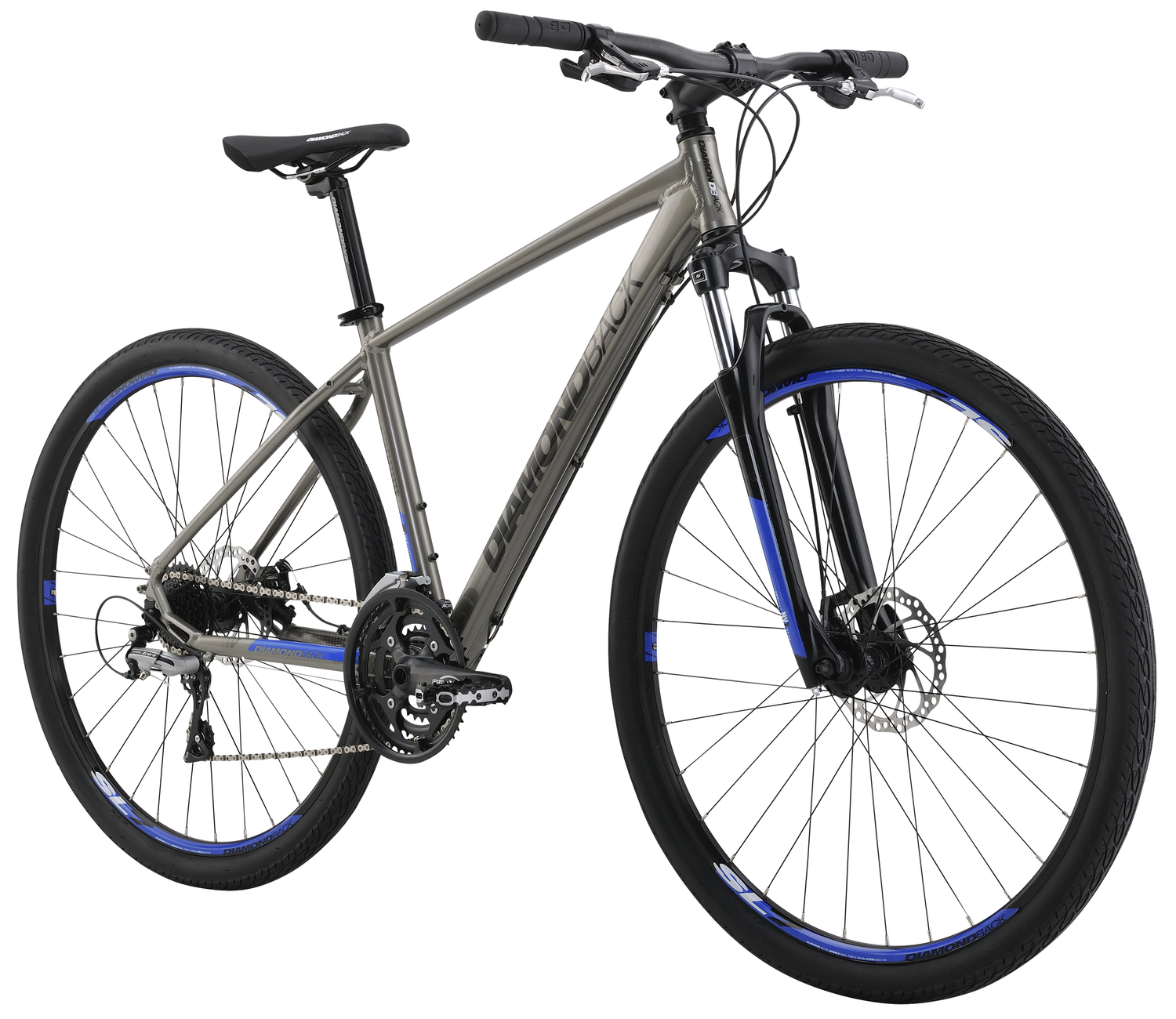 Mountain Bikes 16 Trace Sport Dsl angle