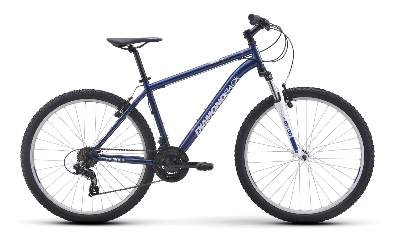 Mountain Bikes 16 Outlook Blu profile