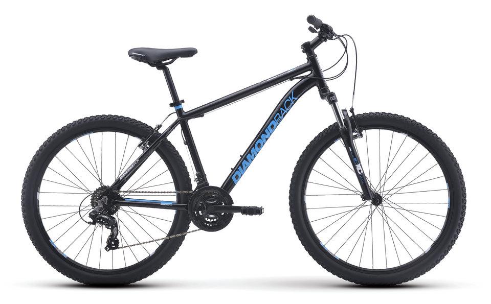 Mountain Bikes 16 Sorrento Blk profile