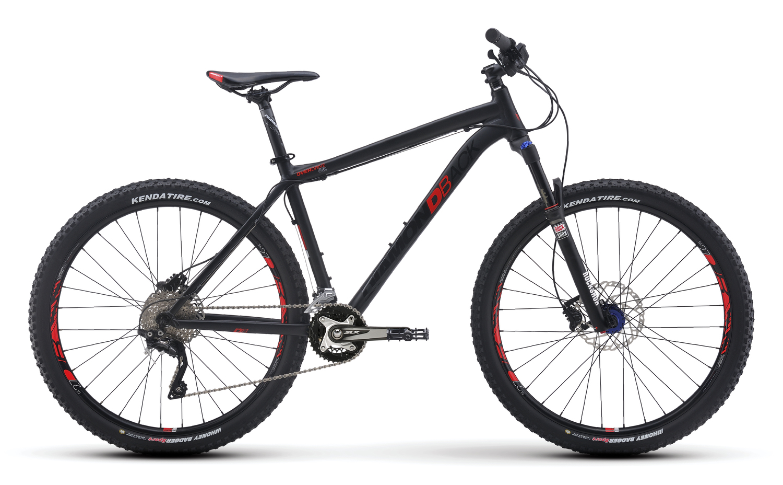 Mountain Bikes 16 Overdrive Pro Blk profile