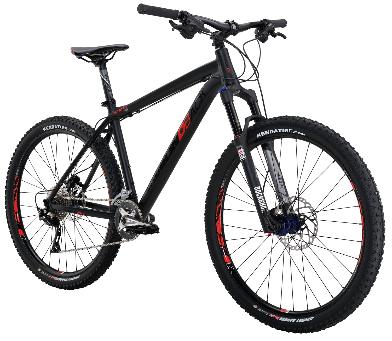 Mountain Bikes 16 Overdrive Pro Blk angle