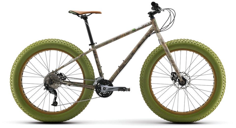Mountain Bikes El Oso Acero Camo