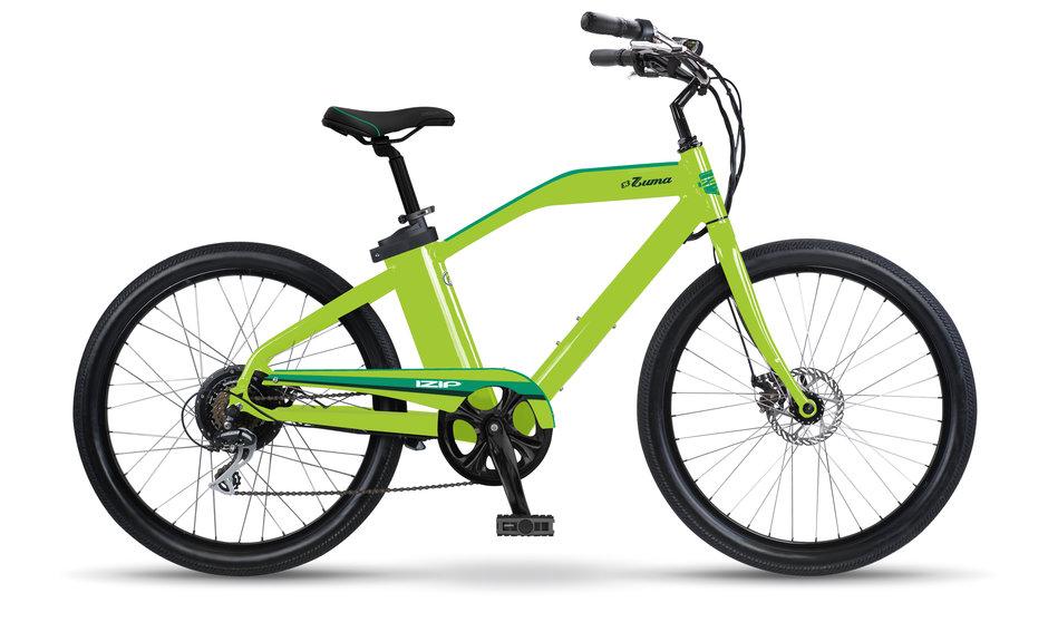 Electric Bike IZIP Zuma Lime flat