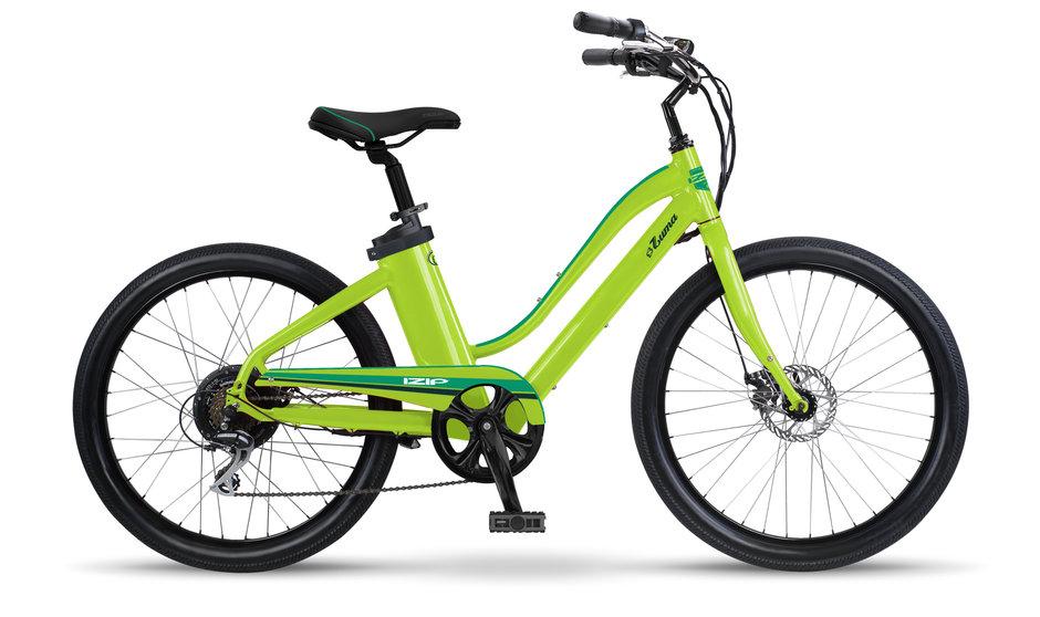 Electric Bike IZIP Zuma W Lime flat