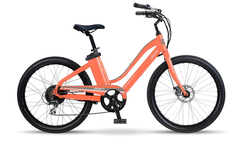 Electric Bike IZIP Zuma W Salmon flat