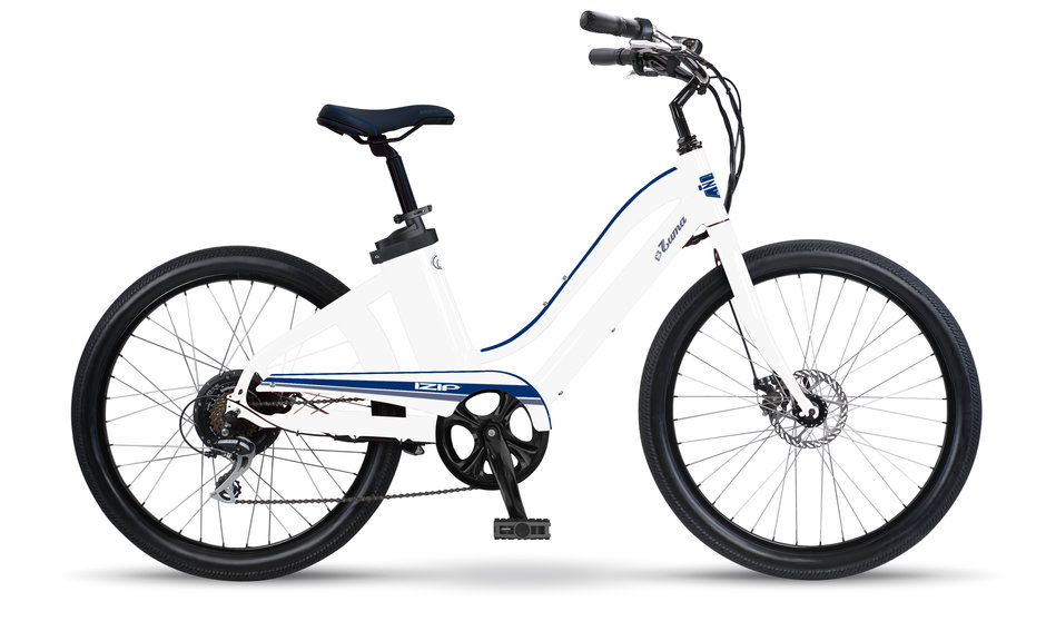Electric Bike IZIP Zuma W White Navy flat