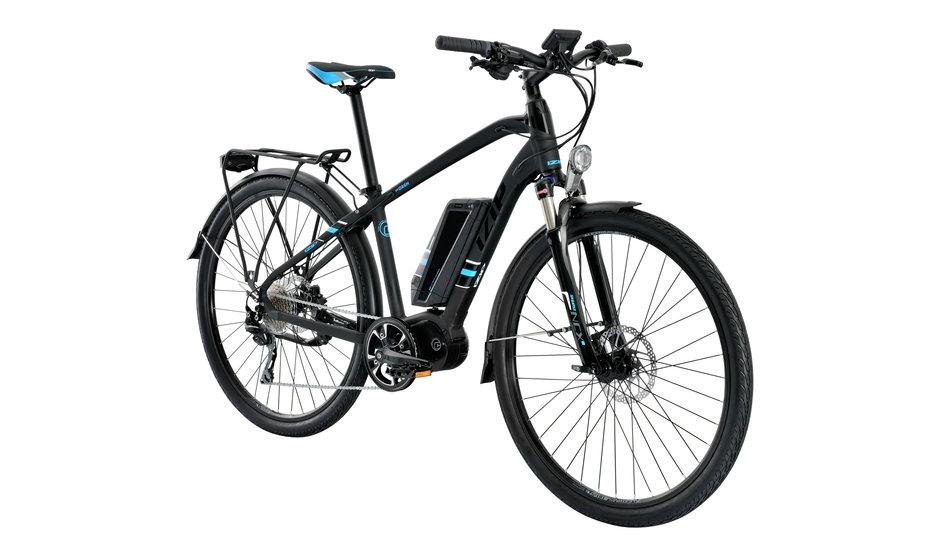 Electric Bike IZIP Dash angle