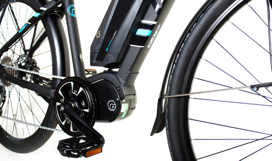Electric Bike IZIP E3 Dash CloseUp 3