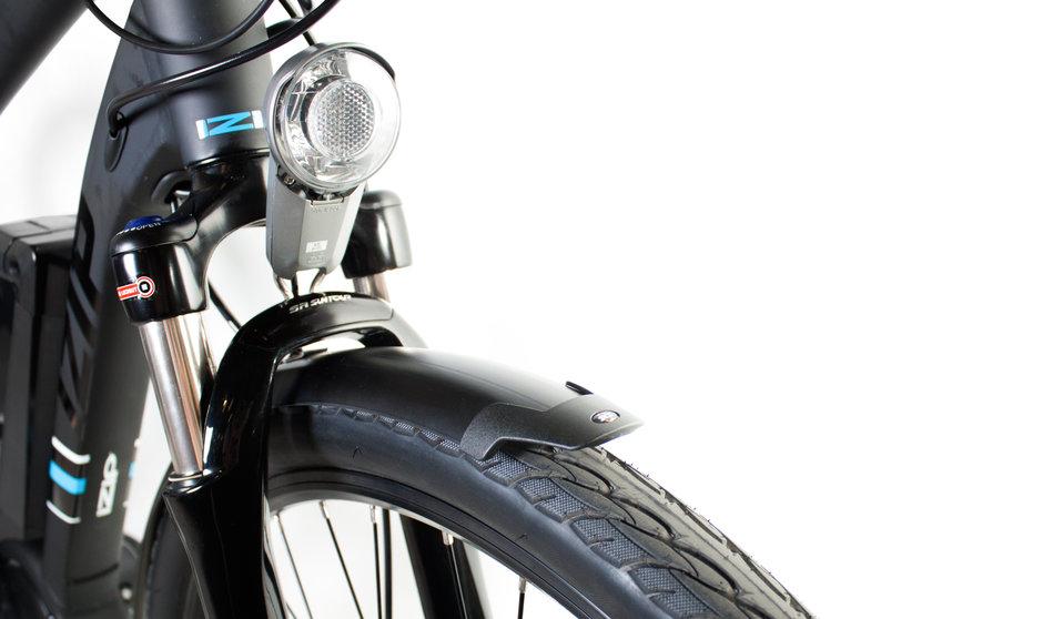Electric Bike IZIP E3 Dash CloseUp 7