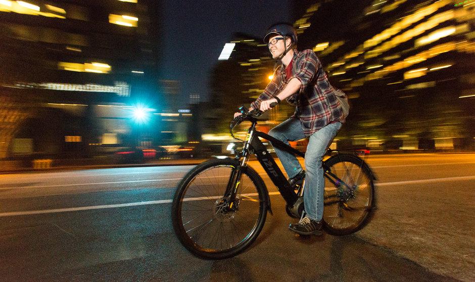Electric Bike IZIP E3 Protour NightStreetriding