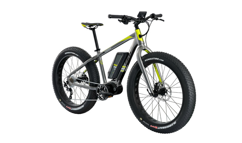 Electric Bike Sumo angle