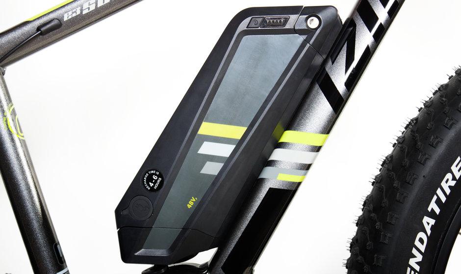 Electric Bike IZIP E3 Sumo CloseUp 2
