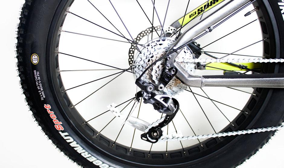 Electric Bike IZIP E3 Sumo CloseUp 10