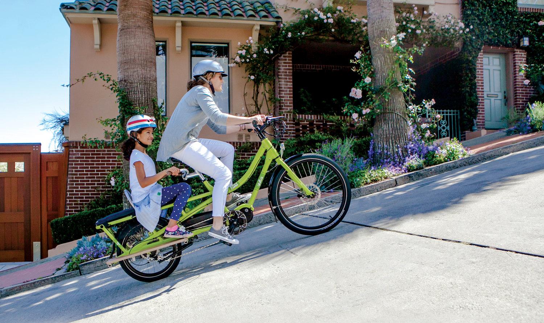 IZIP Electric Bike Mom Bike?