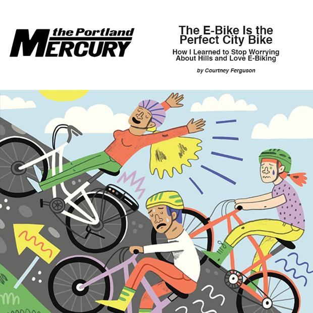 The E-Bike Is the Perfect City Bike>
