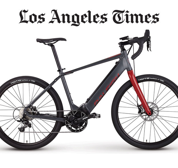 E-bikes help you get in a workout — and a breezy commute>