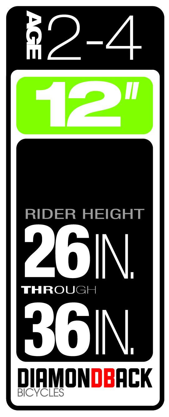 Diamondback Bikes Kids Size 2-4