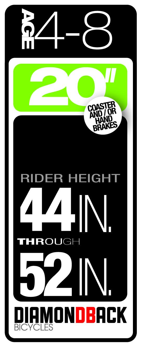 Diamondback Bikes Kids Size 4-8