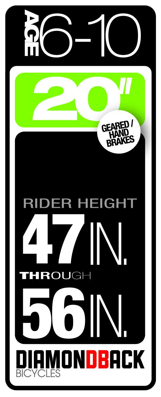 Diamondback Bikes Kids Size 6-10