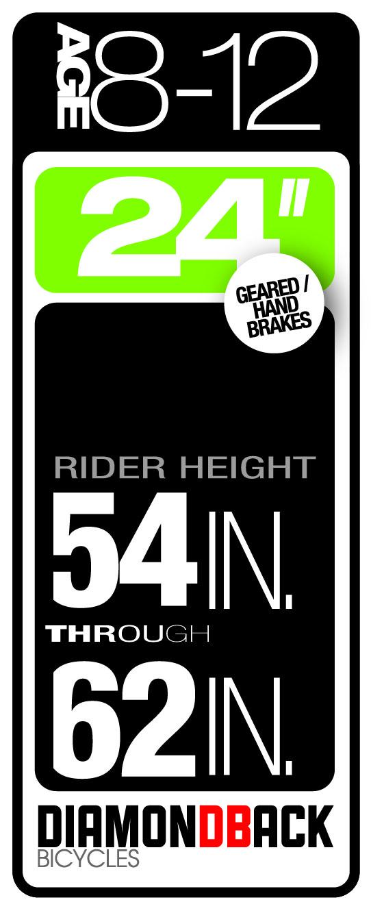 Diamondback Bikes Kids Size 8-12